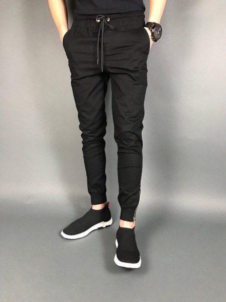 quần jogger nam kaki màu đen cực hót tại hà nội